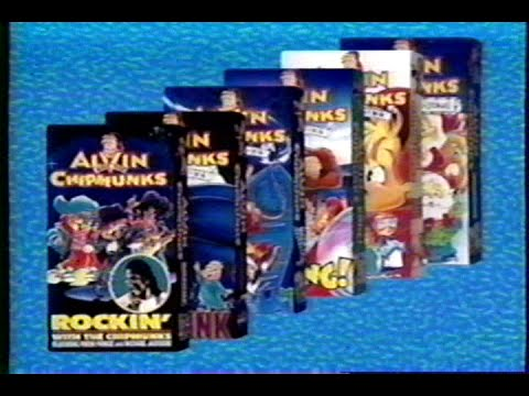 Alvin And The Chipmunks Home Videos 1994 Promo Vhs