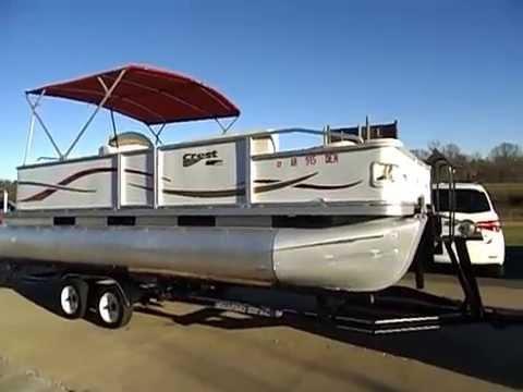 Crest Pontoon Boats >> 2005 CREST PONTOON MIDWAYPOWERSPORTS.COM - YouTube