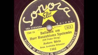 Anders Börje Sven Arefeldts orkester - Balladen om Herr Rosenbloms Speleman