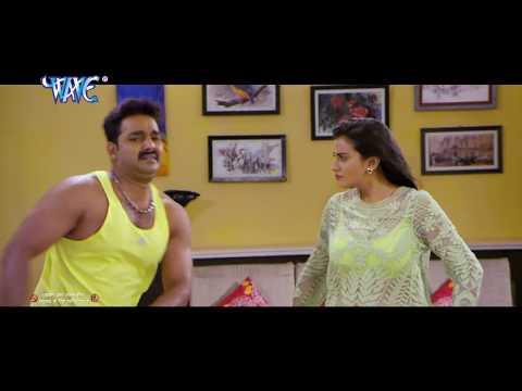 HD होठलाली से रोटी HothLali Se Roti Bor Ke | Tridev | Pawan Singh | Akshara Singh