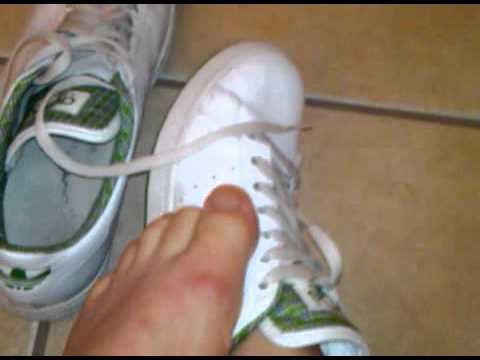 Stan Smith's Sockless - YouTube