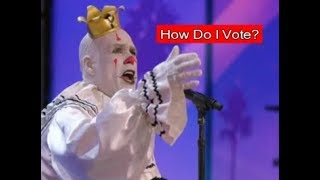 Puddles Pity Party- FAQs- How do I vote on America's Got Talent?