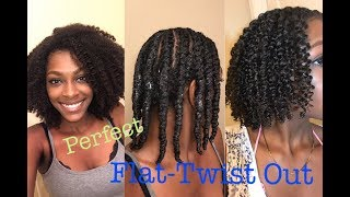 The Perfect Flat Twist-Out Routine