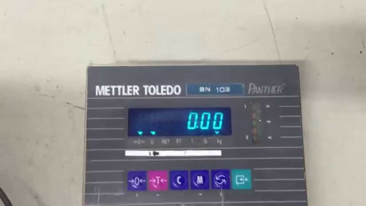 mettler toledo ind560 user manual