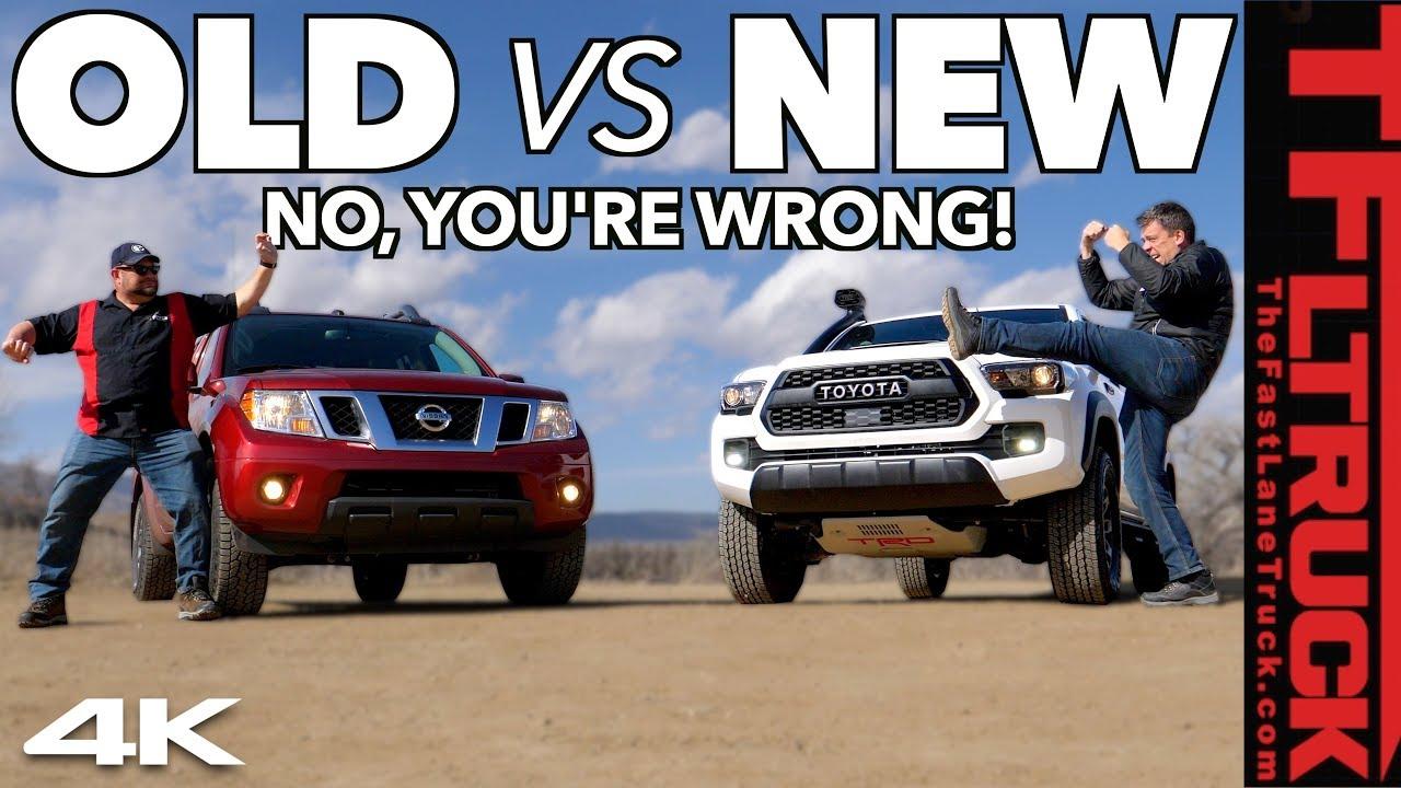 Tacoma Vs Frontier >> Toyota Tacoma Trd Pro Vs Nissan Frontier Pro 4x Do You Really Need
