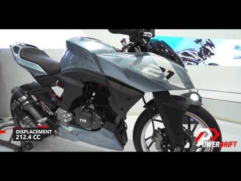 TVS Apache X21 & Entorq 210 Concepts : First Look : PowerDrift