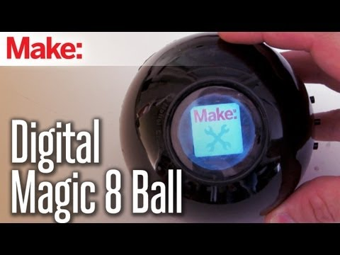 DIY Hacks & How To's: Digital Magic 8 Ball