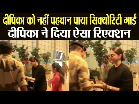 Deepika Padukone stopped by security guard at Mumbai airport | FilmiBeat Mp3