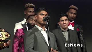 "Mikey Garcia ""I Want To Be The Best Fighter Of This Generation"" EsNews Boxing"