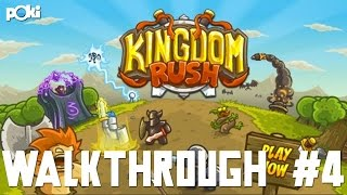 Spider Everywhere! Kingdom Rush Walkthrough Part 04