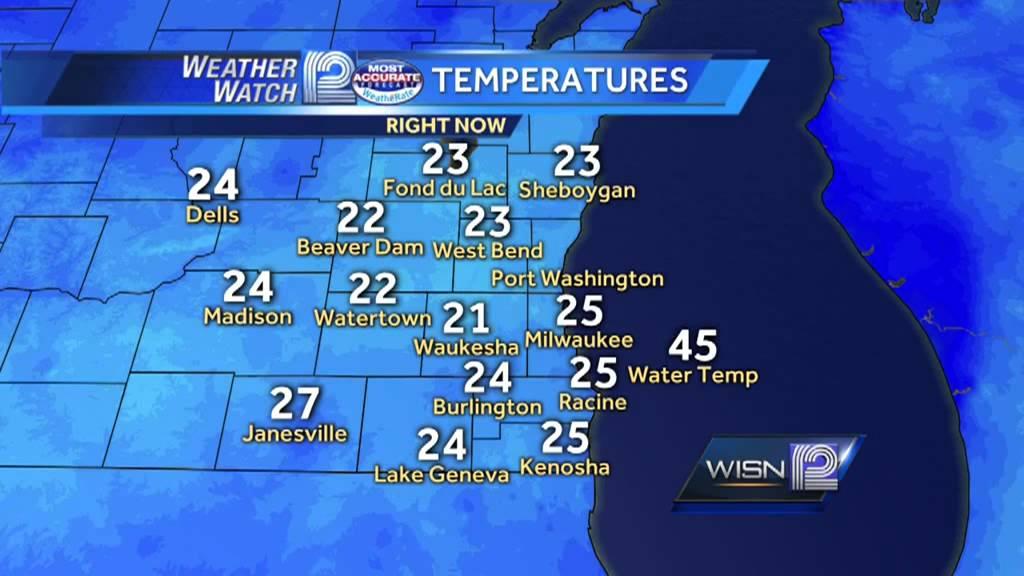 8:30am Wisconsin Winter Weather update
