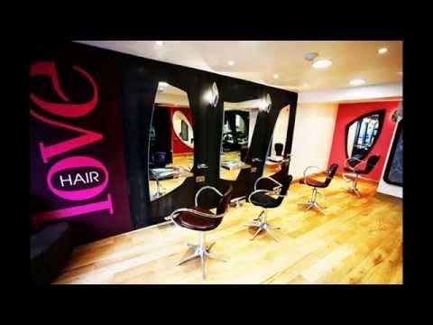 Creative Hair Salon Decorating Ideas