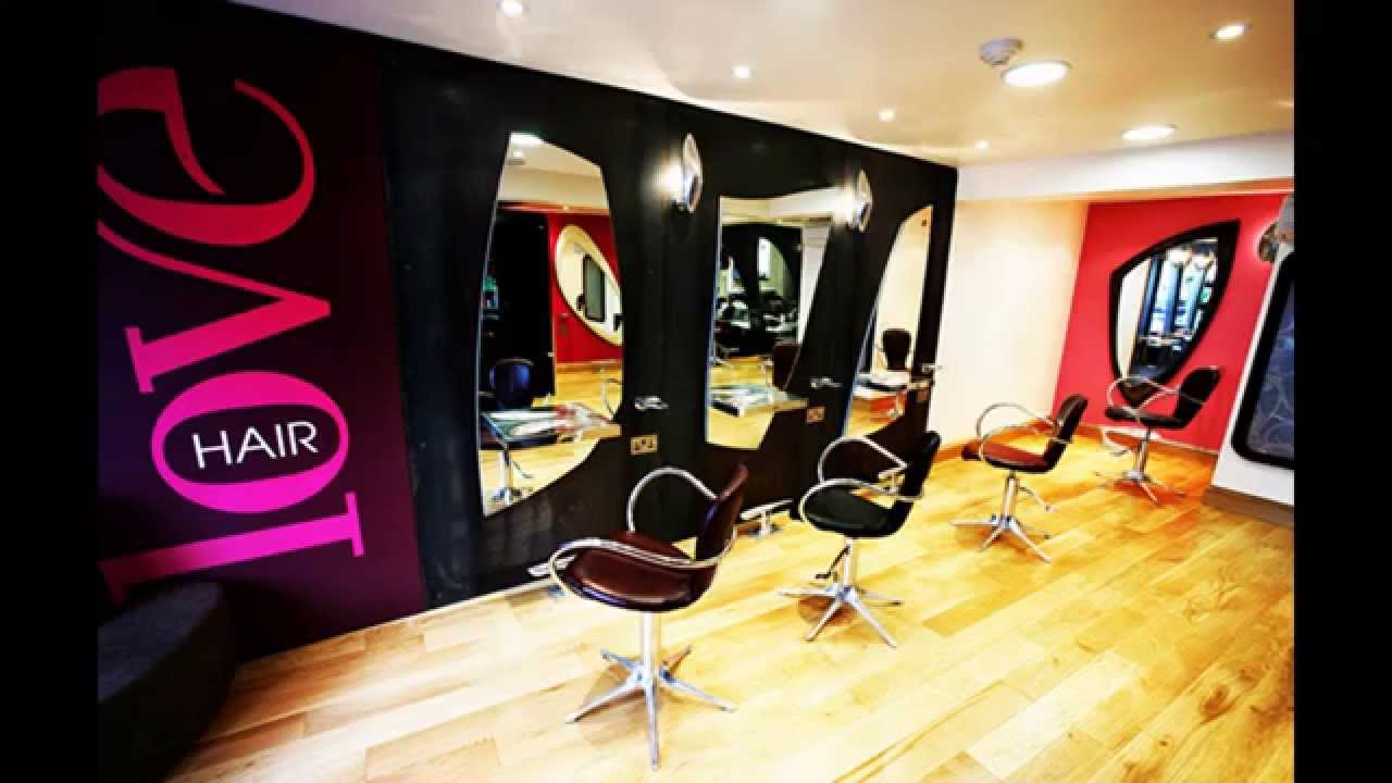creative hair salon decorating ideas youtube - Beauty Salon Design Ideas