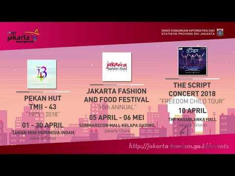 Event Pariwisata dan Kebudayaan DKI Jakarta April 2018 Mp3
