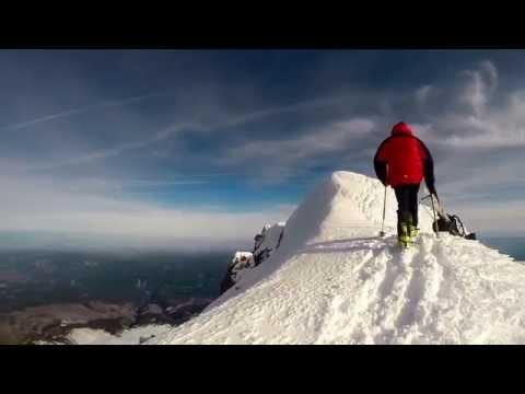 Mt Hood Summit climb Ski Descent