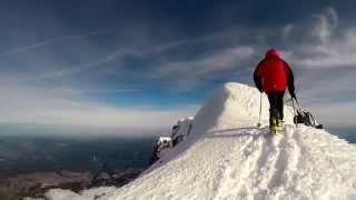 Skiing Mt. Hood
