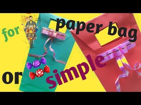 tutorial membuat tas dari kertas origami mudah dan unik