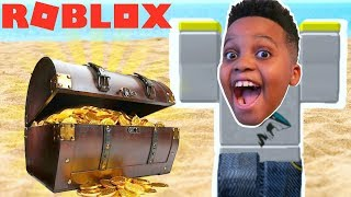 I'M THE RICHEST Treasure Hunt Simulator Player! - Roblox Gameplay Playonyx