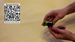 Znter Аккумуляторы крона 400 мач 9в с встроенной зарядкой microusb. Посылка из китая