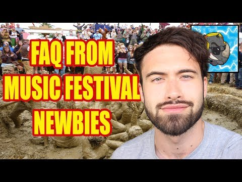 FAQ From Music Festival Newbies | Tips For Beginners |