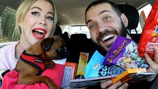 TRYING FOREIGN CANDIES, CHOCOLATE, AND CHIPS with KELSEY DARRAGH!!