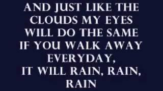 It Will Rain Bruno Mars lyrics - Original sound track