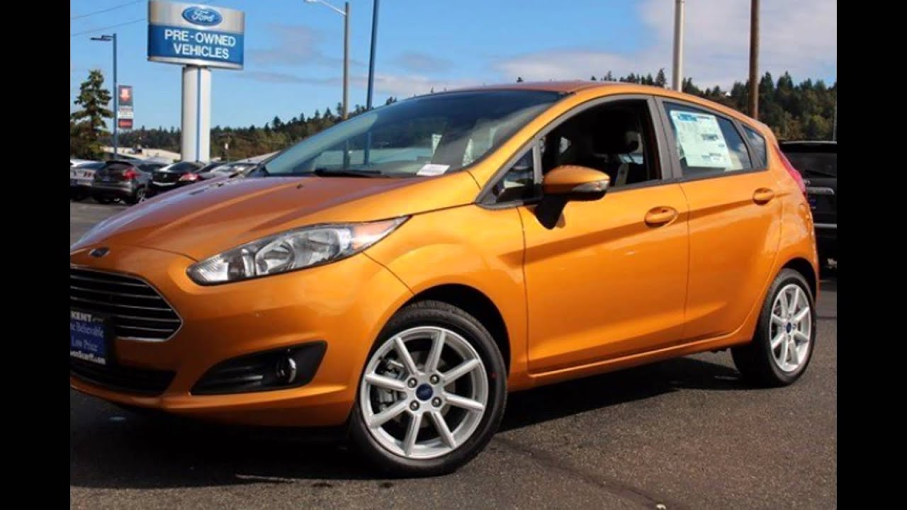 2016 ford fiesta st hatchback electric spice youtube. Black Bedroom Furniture Sets. Home Design Ideas