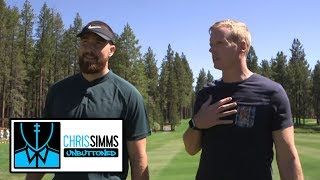 Travis Kelce on Pat Mahomes' best throws from 2018 season | Chris Simms Unbuttoned | NBC Sports