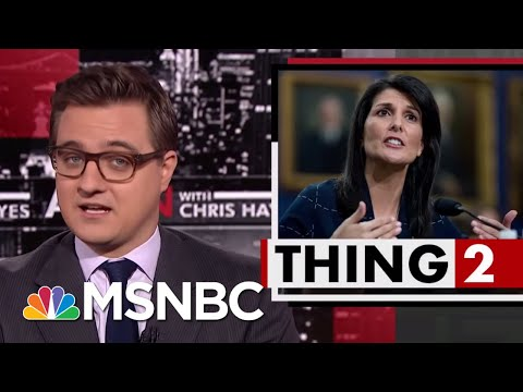 Finns Clap Back At Nikki Haley: Our Health Care Is Great! | All In | MSNBC
