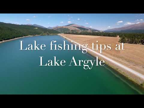 Lake Fishing Tips At Lake Argyle
