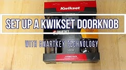 Set up a Kwikset Smartkey Door Knob and Deadbolt