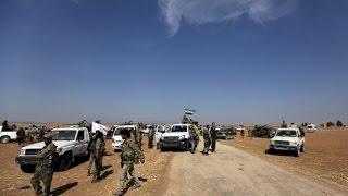 شاهد... الجيش الحر يزحف نحو مدينة الباب.... وفصائل الثوار ترفض الخروج من حلب