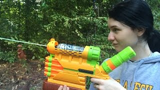 Honest Review: The Nerf Biosquad Abolisher ZR-800 (Zombie Strike Unboxing and Demo)