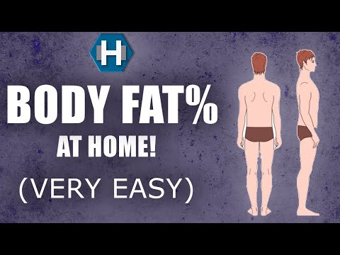 Calculate Body Fat Percentage: EASY WAY At Home (My Opinion)