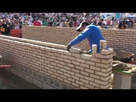 SPEC MIX Bricklayer 500 Competition 2009