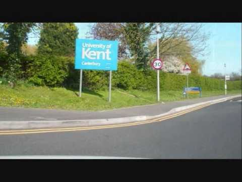 A Drive Thru The University of Kent at Canterbury England part 1