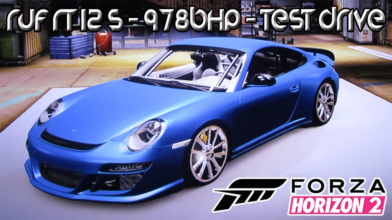 forza horizon 2 xbox one ruf rt 12 s 978bhp test. Black Bedroom Furniture Sets. Home Design Ideas