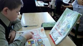 фрагмент урока по английскому языку в 3 классе