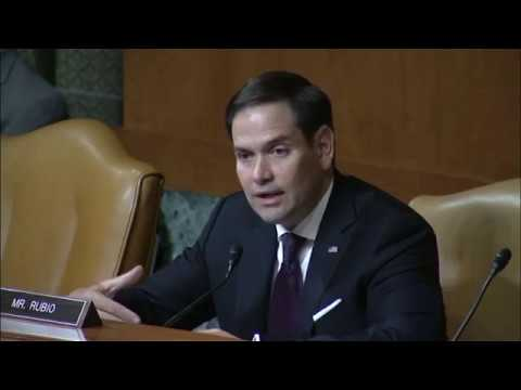 Rubio questions Labor Secretary Acosta about future of the workforce and paid leave