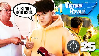This Kid Dropped Out School to Play Fortnite Professionally (15 Year Old)