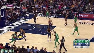 Boston Celtics Defensive Highlights Vs Indiana Pacers (12/18/2017)