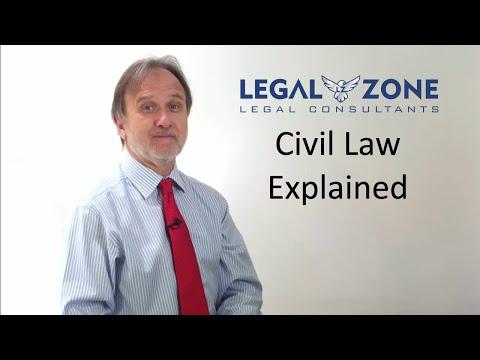 Civil law Explained