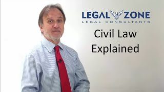 Civil law Explained