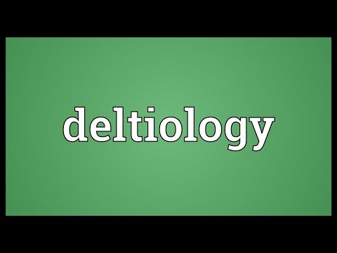 Header of deltiology