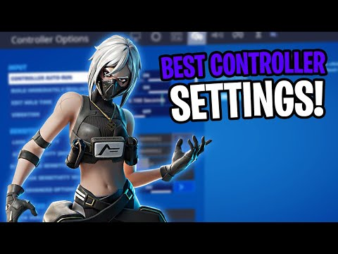 The *BEST* Updated Controller Fortnite Sensitivity/Settings *XBOX&PS4*