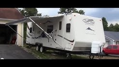 2007 R-Vision Trail-Bay 27DS travel trailer walk-around video