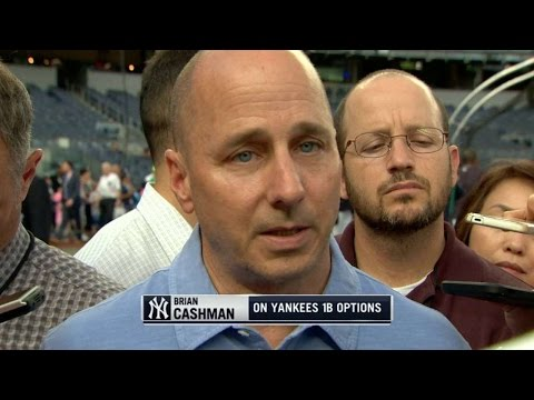Laa Nyy Cashman Discusses Yankees Options At First