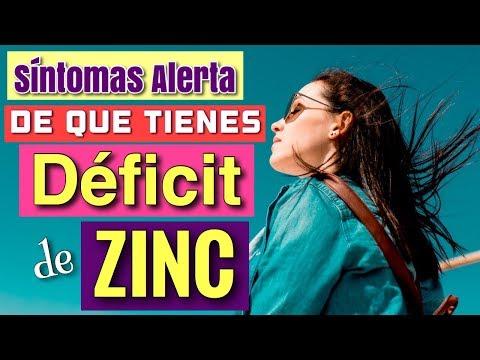 SÍNTOMAS DE ALERTA DE QUE TIENES FALTA DE ZINC