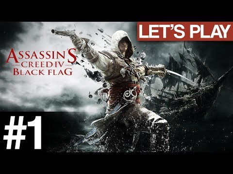 """✖ Let's Play: Assassins Creed: Blackflag   """"My Name's Duncan""""   PART 1 [Walkthrough/Playthrough] PC"""