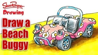 How to draw a Beach Buggy